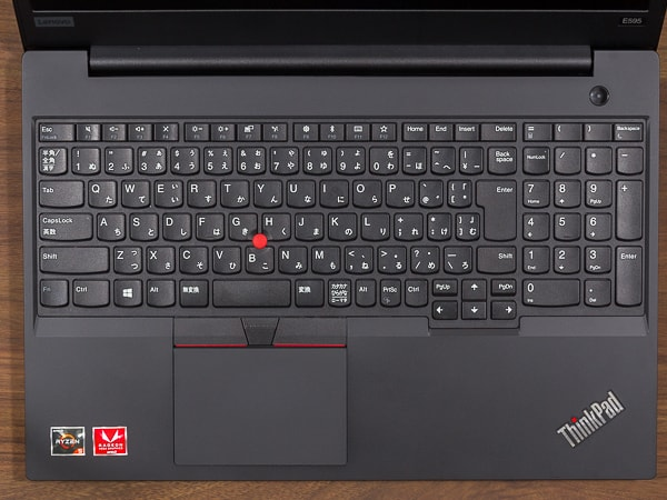 ThinkPad E595 キーボード