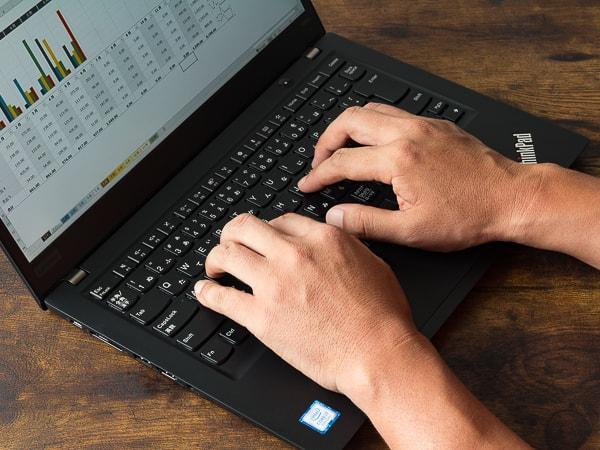 ThinkPad T490s タイプ音