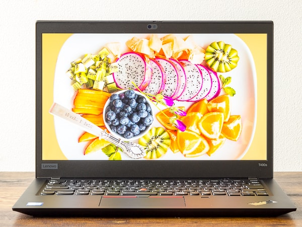 ThinkPad T490s 明るさ