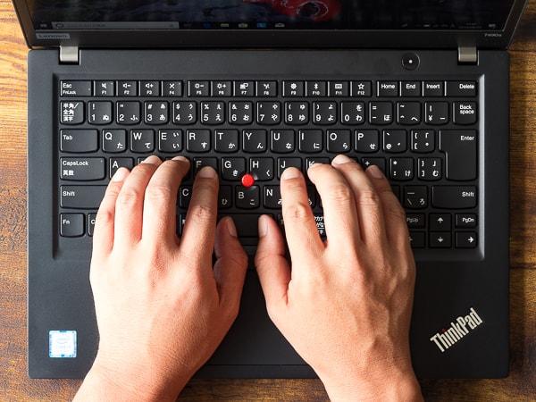 ThinkPad T490s サイズ感