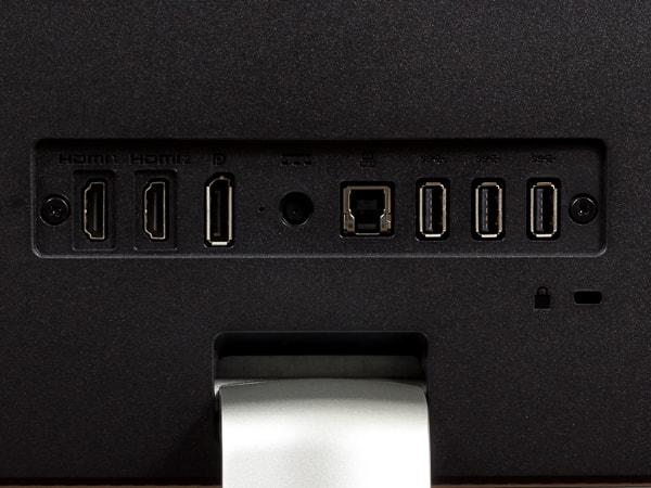 HP 34f カーブドディスプレイ 端子