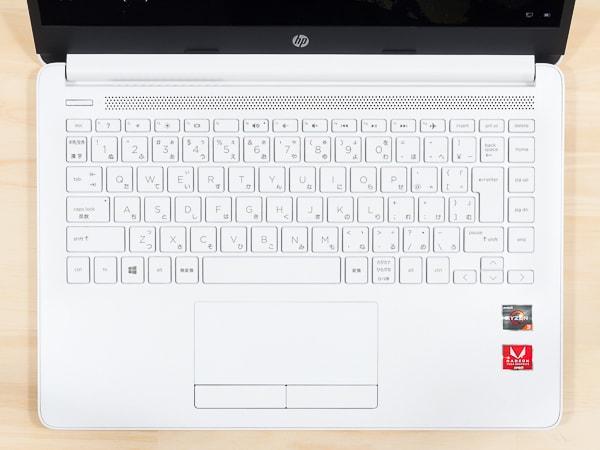 HP 14s-dk0000 キーボード