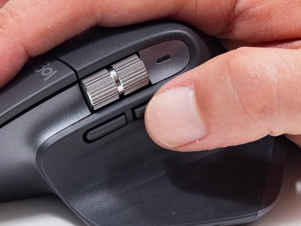 MX Master 3 押しやすくなったボタン