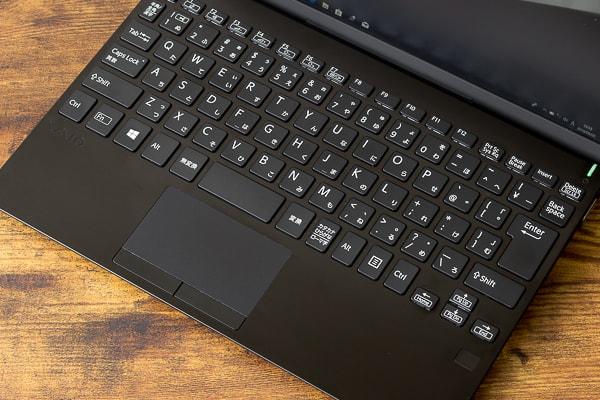 フルピッチのキーボード