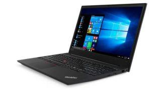 【9/23まで】Ryzen 5+8GBメモリー+256GB SSDで税込4万9680円&純正アダプター52%オフ! ThinkPad週末セール実施中