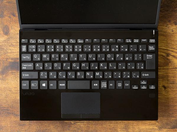 VAIO SX12   ALL BLACK EDITION キーボード