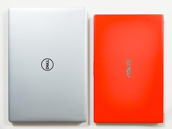 VivoBook 15 X512FA サイズ比較