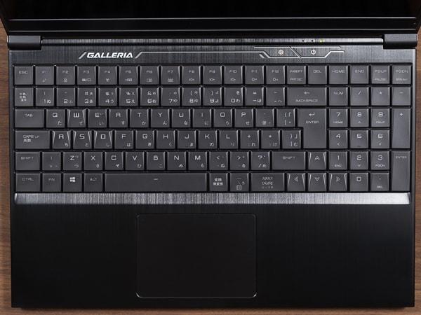 GALLERIA GCF2060RGF-E キーボード
