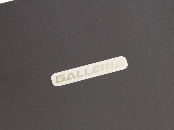 GALLERIA GWL250YF 天板デザイン