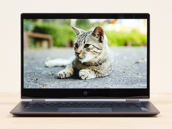 HP Chromebook x360 14 映像品質