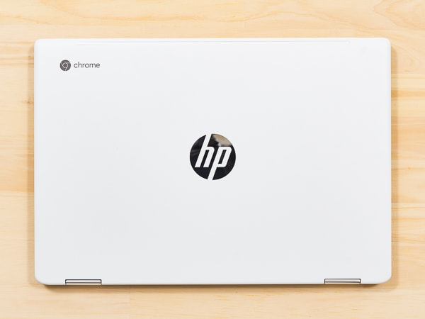 HP Chromebook x360 14 接地面積