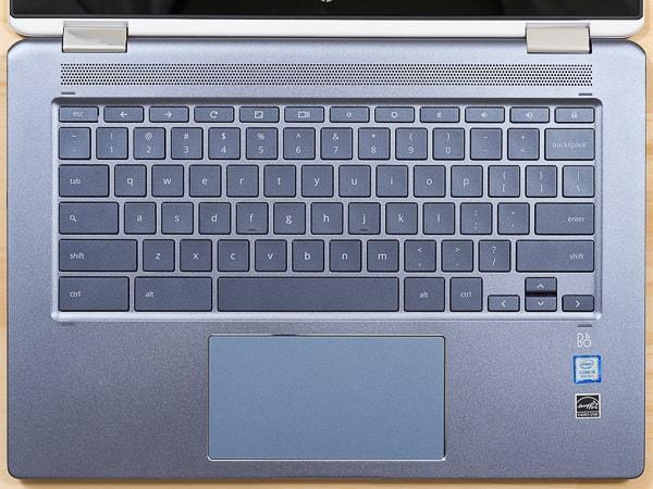 HP Chromebook x360 14 キーボード
