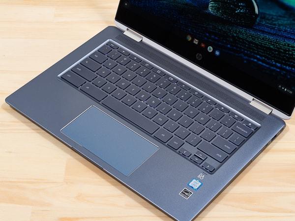 HP Chromebook x360 14 パームレスト