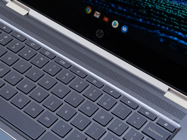 HP Chromebook x360 14 スピーカー