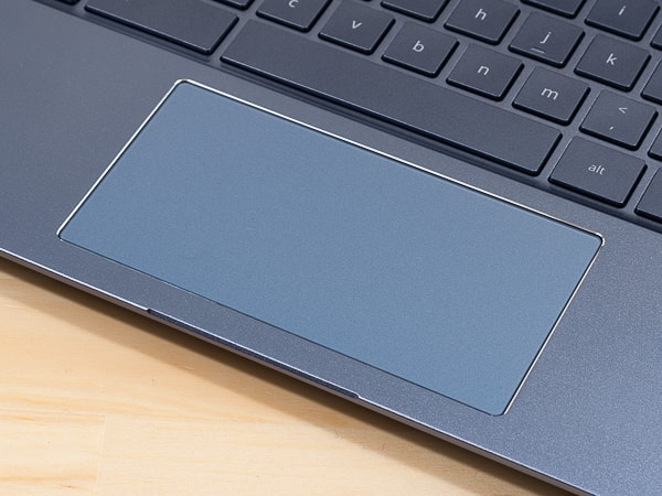 HP Chromebook x360 14 タッチパッド