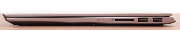 IdeaPad S540 (14, AMD) 右側面