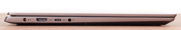 IdeaPad S540 (14, AMD) 左側面