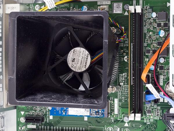 Inspironデスクトップ CPUとメモリー