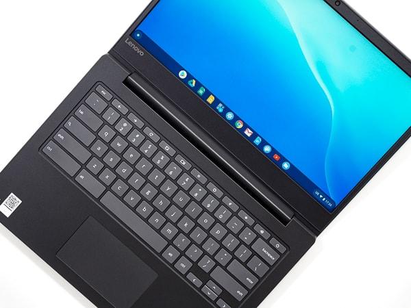 Lenovo Chromebook S330 ディスプレイの最大角度