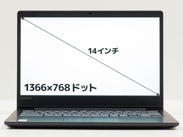 Lenovo Chromebook S330 画面