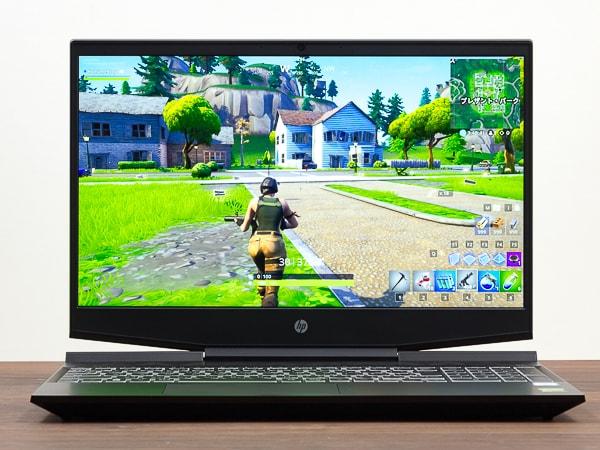 HP Pavilion Gaming 15-dk0000 高リフレッシュレート