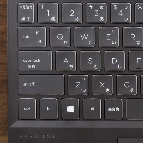 HP Pavilion Gaming 15-dk0000 配列