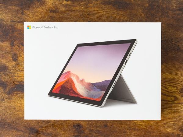 Surface Pro 7 外箱
