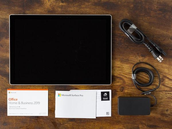 Surface Pro 7 内容物