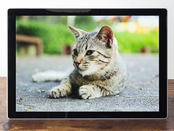 Surface Pro 7 映像品質