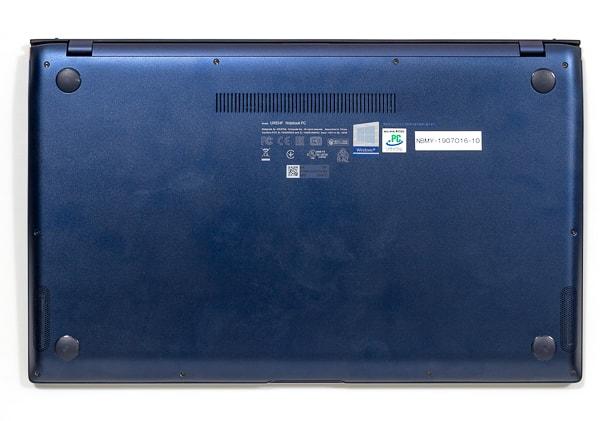 ASUS ZenBook 15 UX534FT 底面部