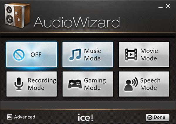 ZenBook 15 UX534FT 音質改善ユーティリティ