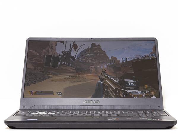 ASUS TUF Gaming FX505DT 視野角