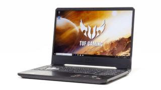 ASUS TUF Gaming FX505DT レビュー:税込8万円台でGTX1650搭載の高コスパゲーミングノートPC
