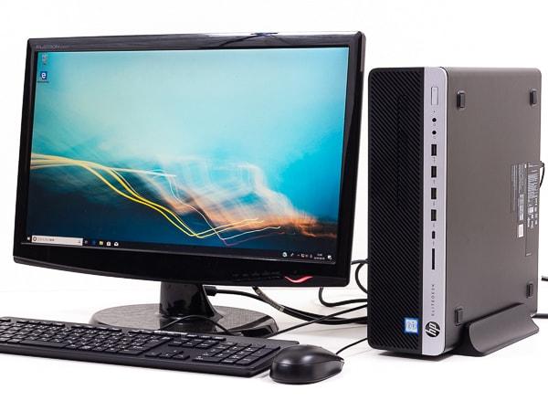 HP EliteDesk 800 G5 SF 設置イメージ