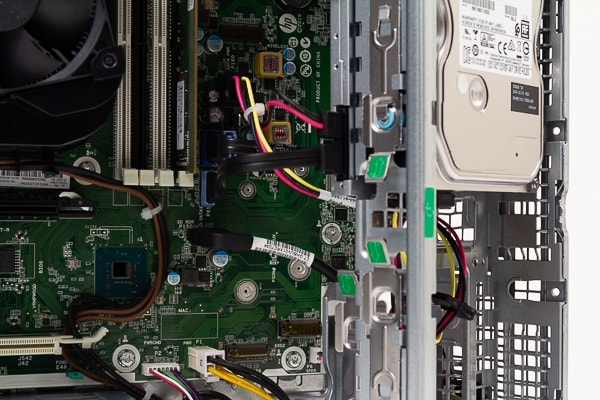 HP EliteDesk 800 G5 SF M.2スロット