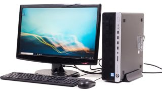 HP EliteDesk 800 G5 SF レビュー:Core i9+128GBメモリーの超ハイスペック構成にも対応可能なスリム型デスクトップPC