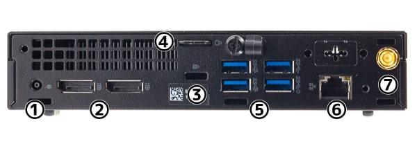 OptiPlex 7070 マイクロ I/Oパネル