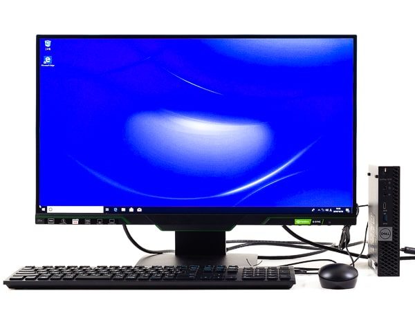 OptiPlex 7070 マイクロ 設置イメージ