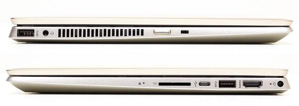 HP Pavilion x360 14 インターフェース