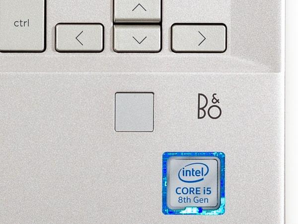 HP Pavilion x360 14 指紋センサー