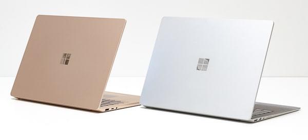 Surface Laptop 3 サンドストーンとプラチナ
