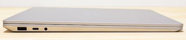 Surface Laptop 3 15インチモデル 左側面