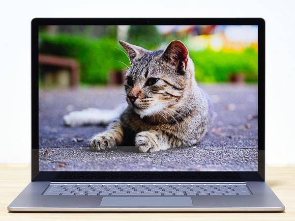 Surface Laptop 3 15インチモデル 映像品質