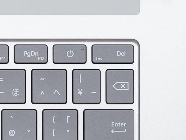 Surface Laptop 3 15インチモデル 配列