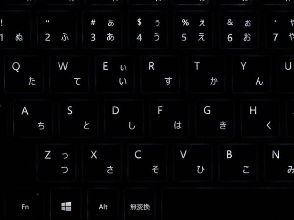 Surface Laptop 3 15インチモデル バックライト