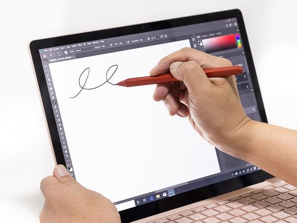 Surface Laptop 3 ペン入力