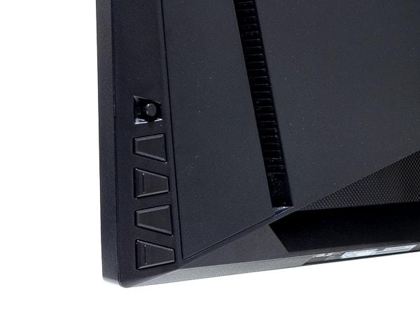 TUF Gaming VG27AQ OSDボタン