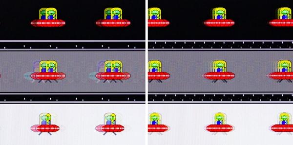 TUF Gaming VG27AQ 残像