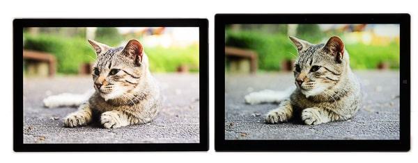 CHUWI UBook Pro Surface Pro比較