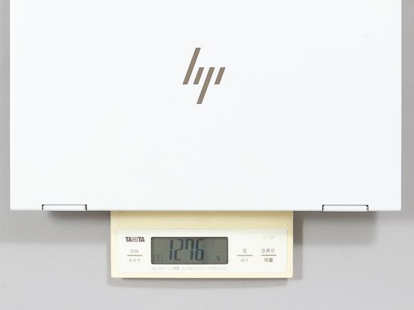 HP ENVY x360 13-ar0000 重さ